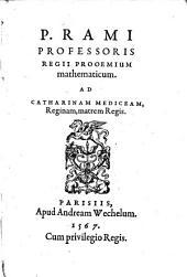 Proemium mathematicum