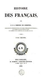 Histoire des Français: Volume2