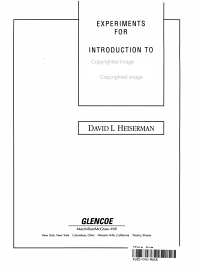Experiments for Introduction to Digital Circuits PDF