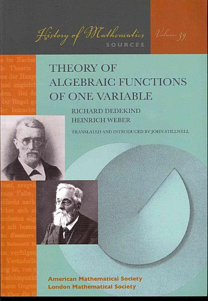Theory of Algebraic Functions of One Variable PDF