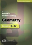Developing Essential Understanding of Geometry for Teaching Mathematics in Grades 9 12 PDF