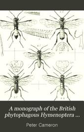 A Monograph of the British Phytophagous Hymenoptera: Issue 59, Volume 1