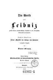 Die Werke von Leibniz