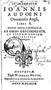 Epigrammatum libri decem
