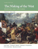 The Making of the West  Volume C  Since 1740