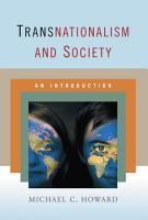 Transnationalism and Society PDF