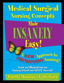 Medical Surgical Nursing Concepts Made Insanely Easy  PDF