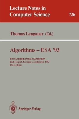 Algorithms   ESA  93