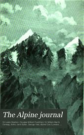 The Alpine Journal: Volume 20