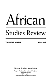 African Studies Review PDF