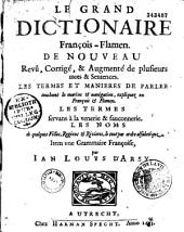 Le grand dictionnaire françois-flamen...