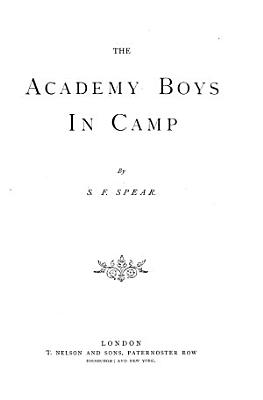 The Academy Boys in Camp PDF