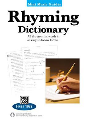 Mini Music Guides  Rhyming Dictionary PDF