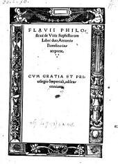 De vitis sophistarum Libri duo, Antonio Bomfino interprete