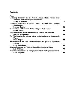 Studies in Politics and Society PDF