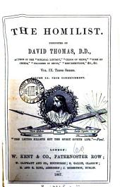 The Homilist; or, The pulpit for the people, conducted by D. Thomas. Vol. 1-50; 51, no. 3- ol. 63: Volume 17
