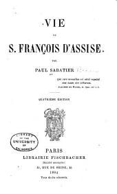 Vie de S. François d'Assise
