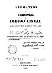 Elementos de geometría y dibujo lineal: para uso de las escuelas primarias