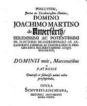 Opera historica politica, antehac separatim sub variis titulis edita, nunc uno volumine coniuncta