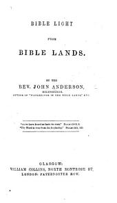 Bible Light from Bible Lands