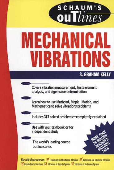 Schaum s Outline of Mechanical Vibrations PDF