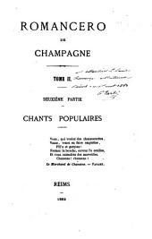 Romancero de Champagne: Volume21