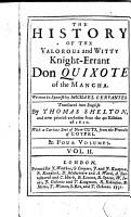 The History of the Valorous and Witty Knight errant Don Quixote of the Mancha 2 PDF