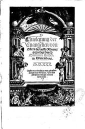 Auslegung der Episteln und Evangelien vom Advent an bis auff Ostern: Anderweit corrigirt durch Martinum Luther