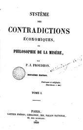 Système des contradictions économiques, ou Philosophie de la misère, 1