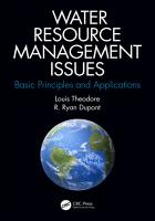 Water Resource Management Issues PDF