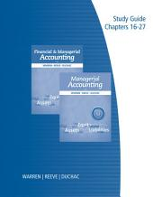 Study Guide, Volume 2 for Warren/Reeve/Duchac's Managerial Accounting, 12th and Financial & Managerial Accounting, 12th: Volume 2, Edition 12