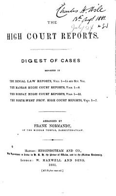 High Court Reports