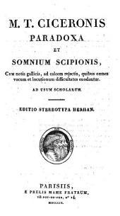 Paradoxa et Somnium Scipionis