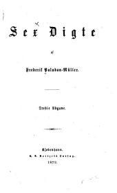 Sex digte