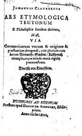 Ars etymologica teutonum