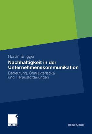 Nachhaltigkeit in der Unternehmenskommunikation PDF