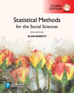 Statistical Methods for the Social Sciences  Global Edition