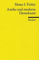 Antike und moderne Demokratie PDF