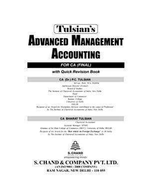 Advanced Management Accounting With Quick Revision  For CA Final   Combo Pack  PDF