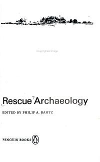 Rescue Archaeology
