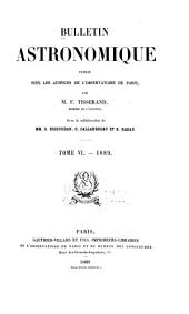 Bulletin astronomique: Volume 6