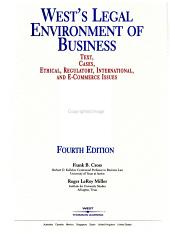 West s Legal Environment of Business PDF