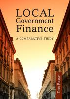 Local Government Finance PDF