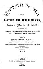 Cyclopaedia of India and of Eastern and Southern Asia, Commercial, Industrial and Scientific