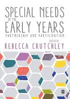 Special Needs in the Early Years PDF