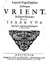 Gedwongen Urient, in Duyts gerijmt door Isaak Vos