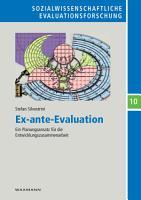 Ex ante Evaluation PDF