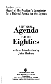 A National Agenda for the Eighties PDF
