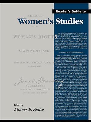 Reader s Guide to Women s Studies PDF