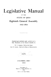 Manual of Legislative Practice in the General Assembly